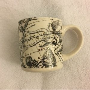 Anthropologie Salt and Earth Gemini Coffee Cup